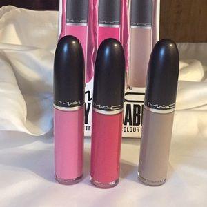 M.A.C matte liquid lipcolour kit